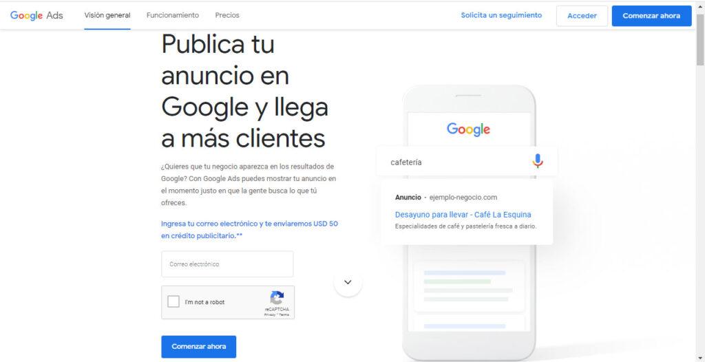 Cómo publicar en Google