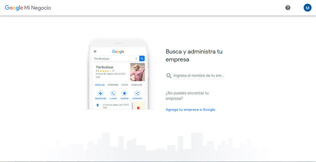 agregue su empresa a Google maps